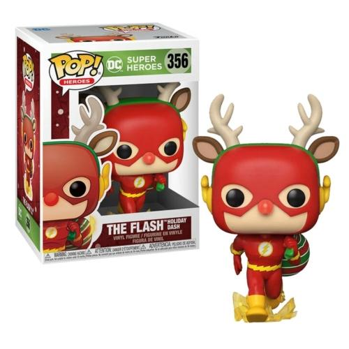POP! DC Comics Heroes Holiday: The Flash Holiday Dash figura 9 cm
