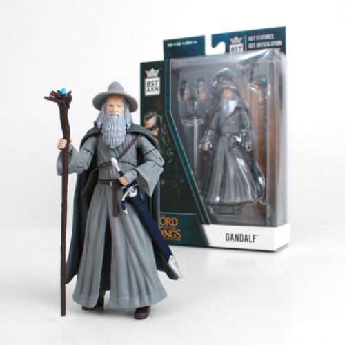 Lord of the Rings - A gyűrük Ura Gandalf mozgatható gyűjtői akció figura 13 cm