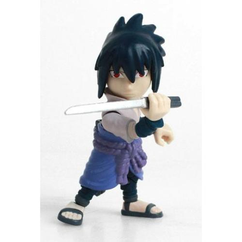 Naruto Shippuden mozgatható gyűjtői anime akció figura Sasuke Uchiha 8 cm