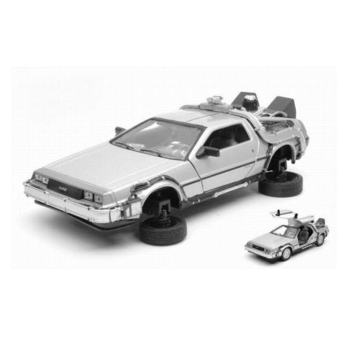 BACK TO THE FUTURE II Vissza a Jövőbe II Diecast Modell 1/24 ´81 DeLorean LK Coupe Fly Wheel 18 cm