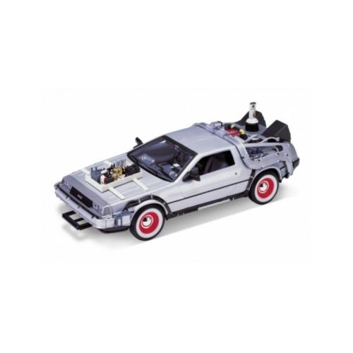 BACK TO THE FUTURE III Vissza a Jövőbe III Diecast Modell 1/24 ´81 DeLorean LK Coupe 18 m