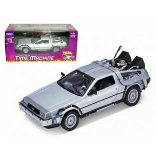 Back to the Future I. Vissza a Jövőbe I. Diecast Modell 1/24 ´81 DeLorean LK Coupe 18 m