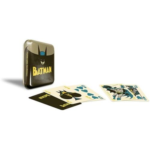 DC Comics Batman Vintage francia kártya fém tokban