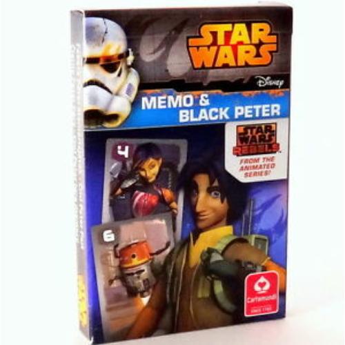Star Wars Rebels memória kártya és Fekete Péter