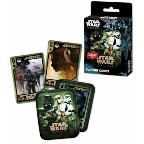 Star Wars Rouge One fém dobozos játék kártya