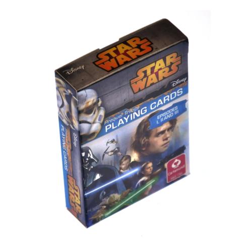 Star Wars episode 1-2-3 játék kártya