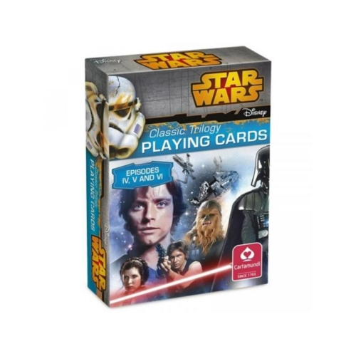 Star Wars episode 4-5-6 játék kártya