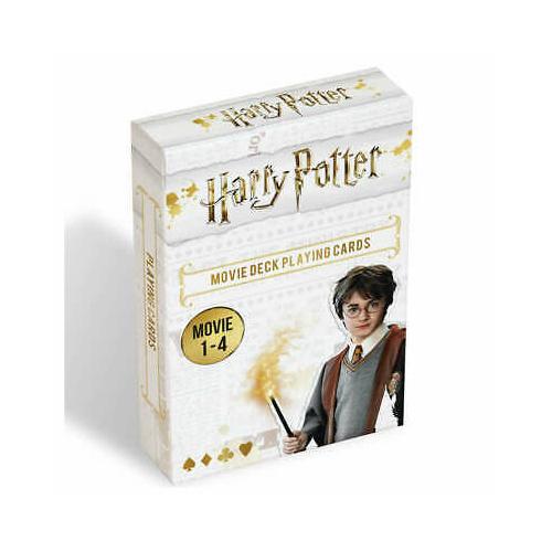 HARRY POTTER 1-4 movie játék kártya