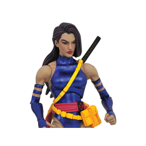 Marvel Select X-Men Psylocke mozgatható figura 18 cm