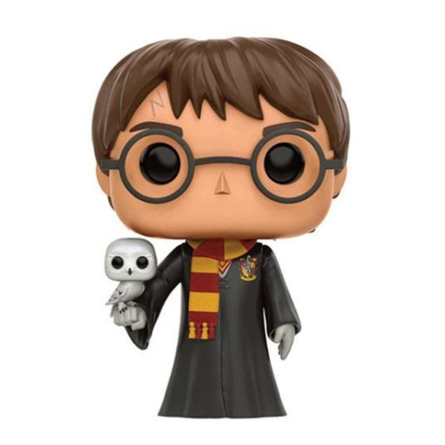POP!  Movies HARRY POTTER Harry with Hedwig figura 9 cm