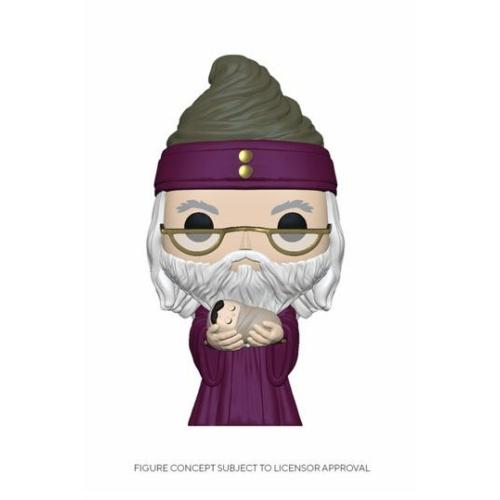 POP! Movies Harry Potter Dumbledore w/Baby Harry figura 9 cm