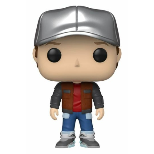 POP!  Movies Back to the Future Marty in Future Outfit PoP figura 9 cm
