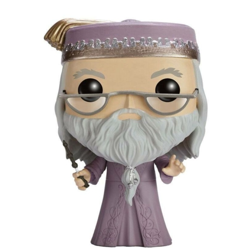POP!  Movies HARRY POTTER Dumbledore with Wand figura 9 cm