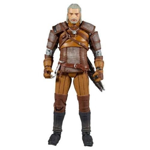 The Witcher Geralt of Rivia Gold Label Series mozgatható figura 18 cm