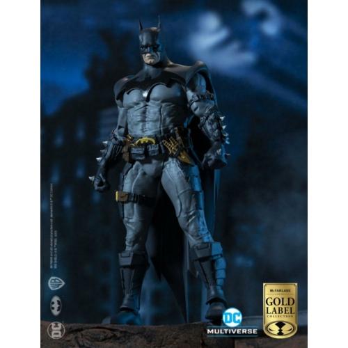 DC Multiverse Batman Designed by Todd McFarlane Gold Label Collection figura 18 cm