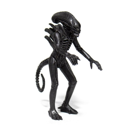 ALIENS  ReAction Wave 1 Alien Warrior Midnight Black retro figura