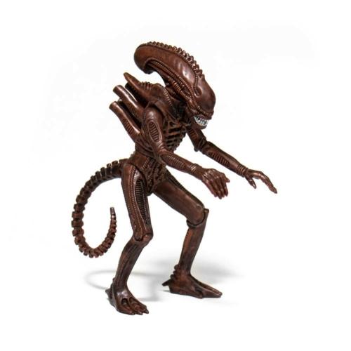 ALIENS ReAction Wave 1 Alien Warrior Dusk Brown retro figura
