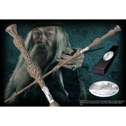 HARRY POTTER Albus Dumbledore (Character-Edition) varázspálca 1/1 filmes replika 35 cm