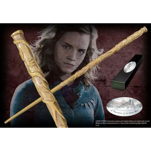HARRY POTTER Hermione Granger (Character-Edition) filmes replika varázspálca 1/1 méretarány