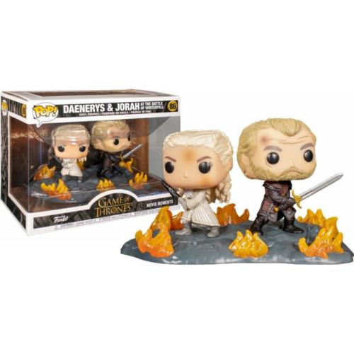 POP! Game of Thrones Trónok Harca Funko POP Moment Daenerys & Jorah at tha battle of Winterfell figura (86)
