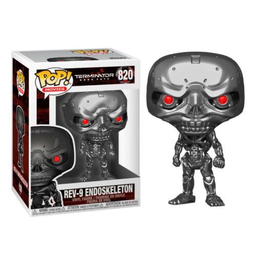 POP Movies Terminator Dark Fate - REV-9 Endoskeleton figura (820)
