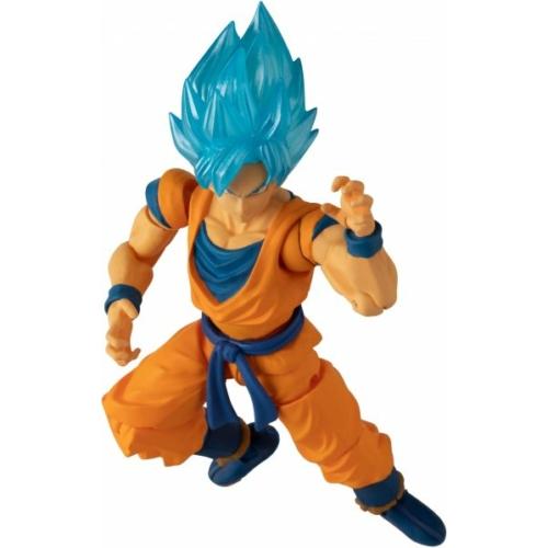 DRAGON BALL  Evolve Super Saiyan God Goku mozgatható figura 13 cm
