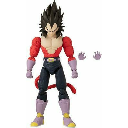 DRAGON BALL  Super Dragon Stars mozgatható Super Saiyan 4 Vegeta akciófigura 15 cm