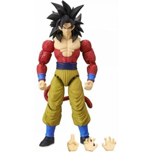 DRAGON BALL Super Dragon Stars Super Saiyan Goku 4 mozgatható figura 17 cm