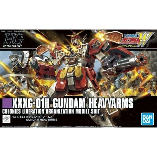 HGAC 1/144 XXXG-01H GUNDAM HEAVYARMS makett