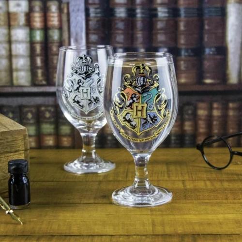 HARRY POTTER Hogwarts Roxfort színváltós díszpohár 300 ml