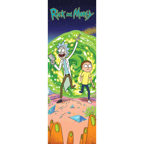 RICK AND MORTY ajtó poszter
