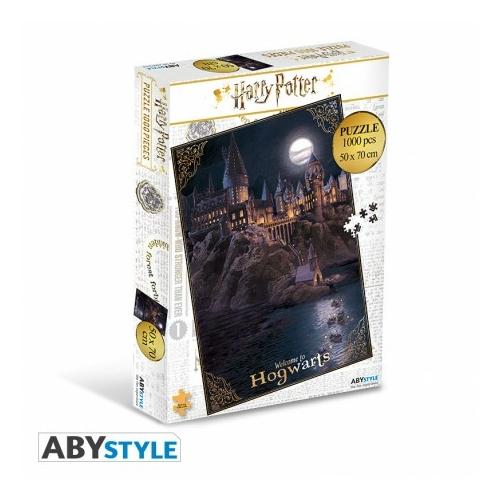 HARRY POTTER Hogwarts 1000 darabos puzzle kirakós társasjáték