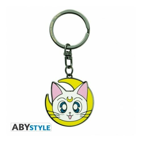 Sailor Moon Artemis fém kulcstartó