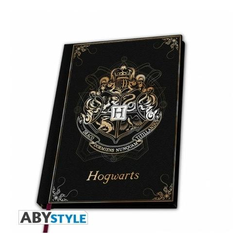HARRY POTTER Hogwarts Roxfort premium A5 méretű notesz füzet