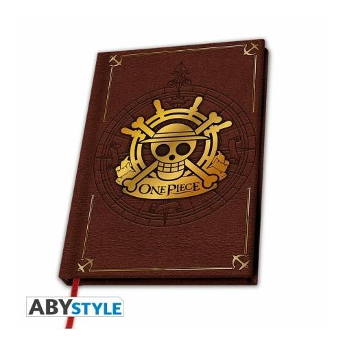 ONE PIECE Skull premium A5 méretű notesz füzet