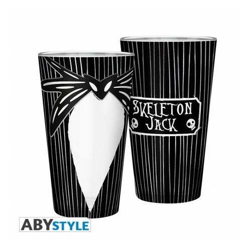 NIGHTMARE BEFORE XMAS Jack Skellington premium üvegpohár 400 ml