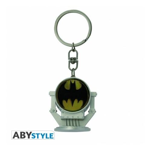 DC COMICS BATMAN Bat signal világító 3D kulcstartó