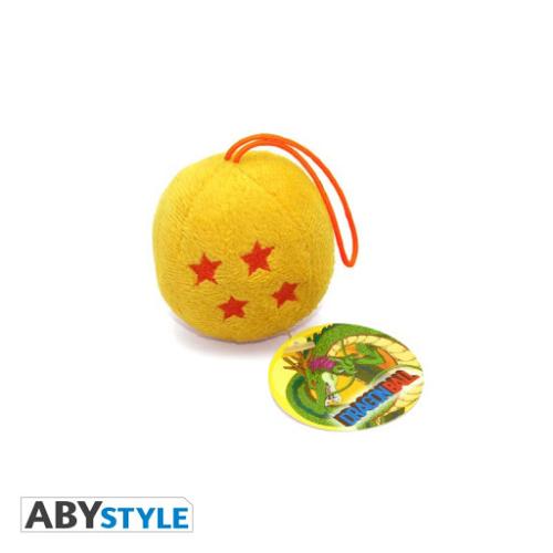 DRAGON BALL Z plüss mini Sárkánygömb kulcstartó táskadísz