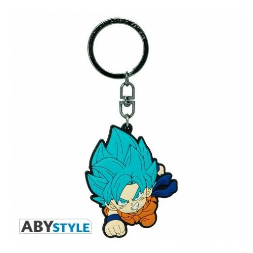 DRAGON BALL SUPER Saiyan Blue Goku PVC kulcstartó