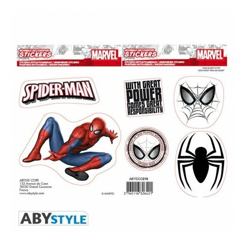 MARVEL Spider-man Pókember matrica csomag