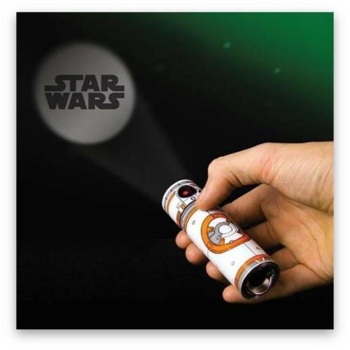 STAR WARS Csillagok Háborúja BB-8 projector lámpa