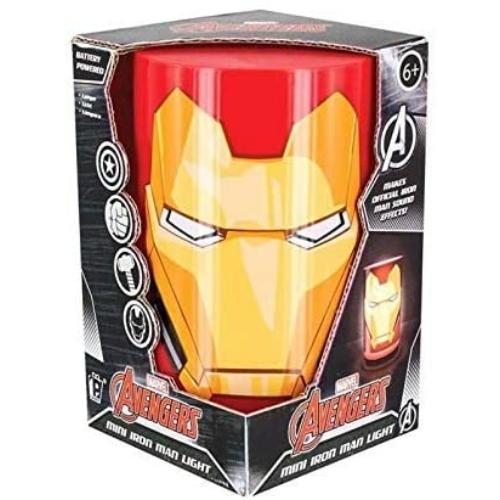MARVEL Iron Man Vasember hangulat lámpa