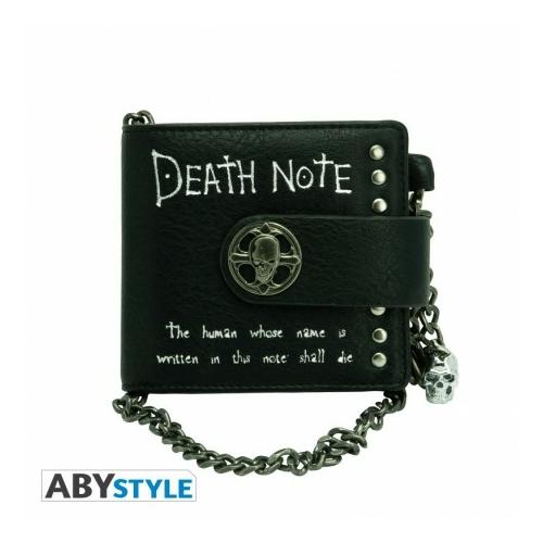 DEATH NOTE Premium láncos műbőr pénztárca