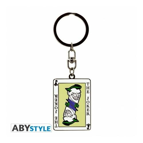 DC COMICS Joker kártya fém kulcstartó