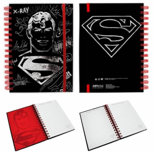 DC COMICS SUPERMAN spirálfüzet