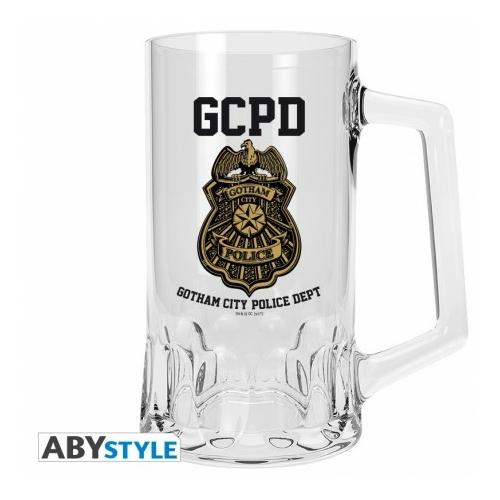 DC COMICS GOTHAM CITY GCPD üveg korsó