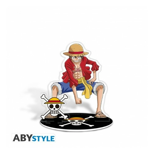 ONE PIECE Luffy Acryl dísz figura