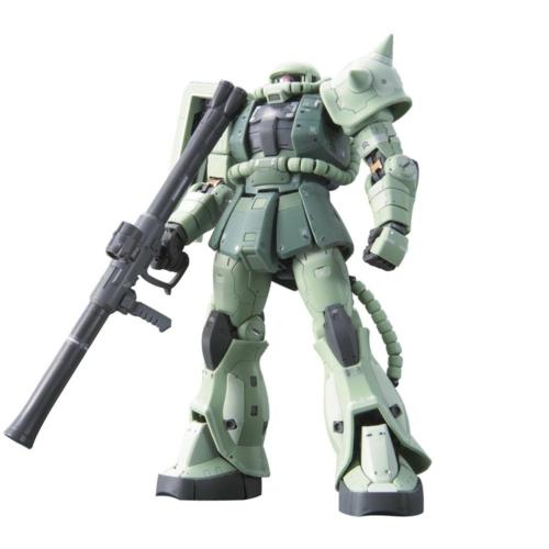 GUNDAM RG 1/144 MS-06F ZAKU II BL makett