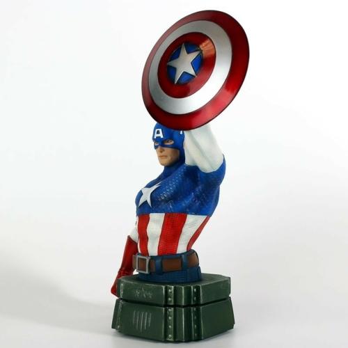 MARVEL Captain America Amerika Kapitány mellszobor