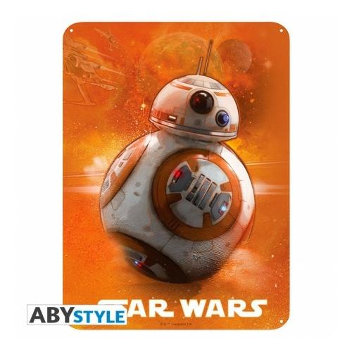 STAR WARS BB-8 fém plakát